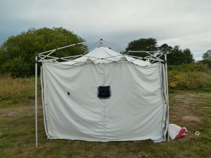 The first in situ test of the obscura